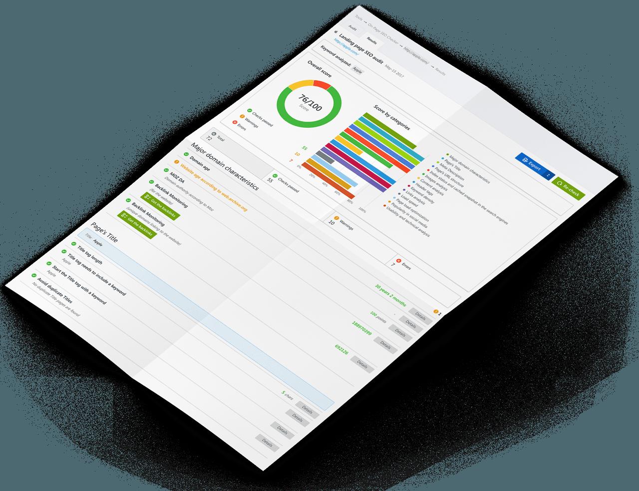 onpage audit seo